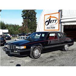 D1 --  1991 CADILLAC FLEETWOOD  , Black , 158832  KM's