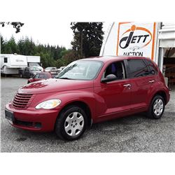 "A12G --  2009 CHRYSLER PT CRUISER  , Red , 199184  KM's  ""NO RESERVE"""