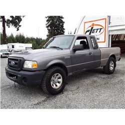 G3 --  2008 FORD RANGER SUPER CAB , Grey , 154608  KM's