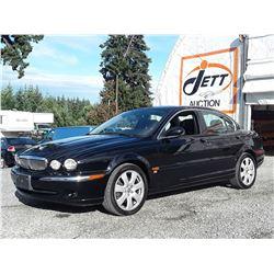 D2 --  2005 JAGUAR X TYPE 3.0 AWD , Black , 105860  KM's