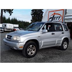 I3 --  2000 SUZUKI GRAND VITARA JLX LTD , Grey , 220515  KM's