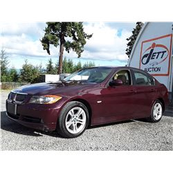 K2 --  2008 BMW 328 XI AWD , Red , 139747  KM's