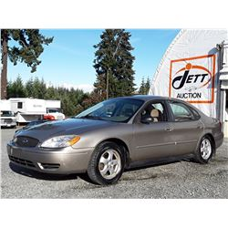 "A12C --  2004 FORD TAURUS SE , Brown , 218718  KM's ""NO RESERVE"""