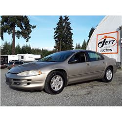 "A12E --  2003 CHRYSLER INTREPID SE , Brown , 210686  KM's ""NO RESERVE"""