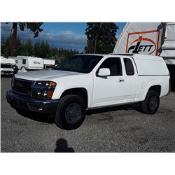 F3 --  2011  GMC CANYON SLE , White , 67988  KM's