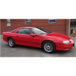 2000 Chevrolet Camaro 2D Coupe **SEE NOTE