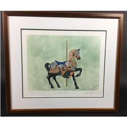 "Watercolor Print ""Muller Horse"" by Susan P Foster"