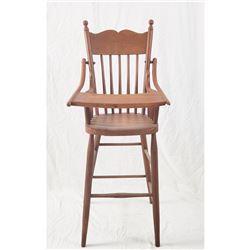 Antique Child's High Chair