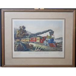 Currier and Ives American Express Train