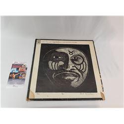 "JSA Certified & Autographed Taj Mahal Album ""The Natch'l Blues"""