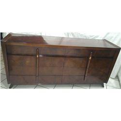Vintage John Cameron 8 Drawer Dresser