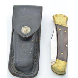 Buck 112 Ranger Folding Knife and Sheath