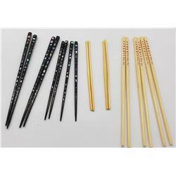 (9) Pairs of Chopsticks