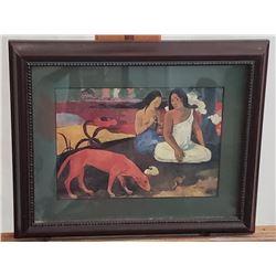"""Arearea 1892"" Paul Gauguin Painting Print on Canvas"