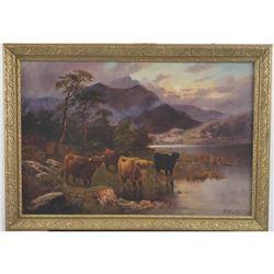 FRANCIS E JAMIESON ORIGINAL SCOTTISH HIGHLAND COWS