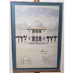G Juilles 1864 Architectural Print