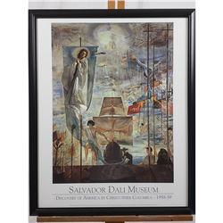 Salvador Dali Museum Poster
