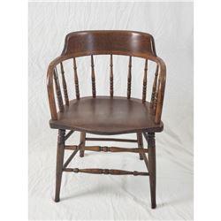 Windsor Spindle Back Captains Chair