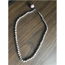 Jewelry - Grey Baroque Pearl Necklace