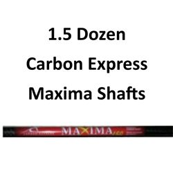 1.5 Doz. Maxima Shafts
