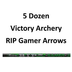 5 Doz RIP 400 Gamer Arrows