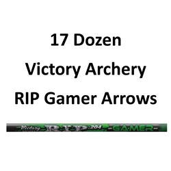 17 Doz RIP 600 Gamer Arrows