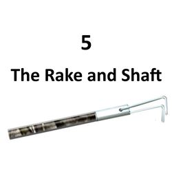 5 x The Rake and Shaft