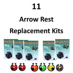 11 x Arrow Rest Replacement kits
