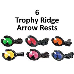 6 x Trophy Ridge Rests