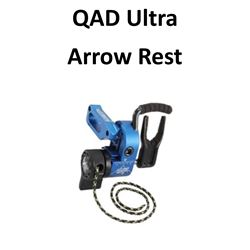 1 x QAD Ultra Rest HD Blue LH