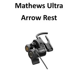 1 x Mathews Ultra Rest LH Black