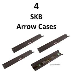 4 x Lakewood Arrow Cases