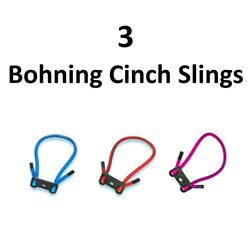 3 x Bohning Cinch Slings