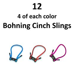 12 x Bohning Cinch Slings
