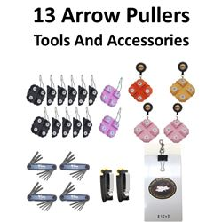 24 x Arrow Pullers & Tools