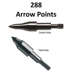 24 x Doz. 11/32 Arrow Points