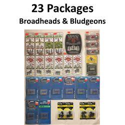 23 x Broadheads & 4 Bludgeons