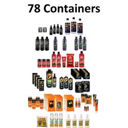 78 x Scent Elimination Products