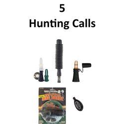 5 x Hunting Calls