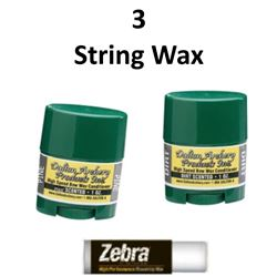 3 x Bow Wax