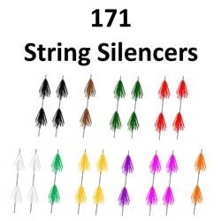 171 x OMP String Silencers