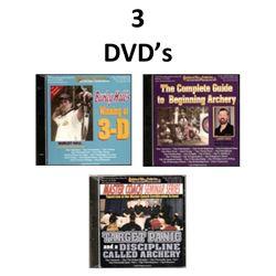3 DVD's