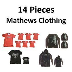 14 x Mathews Clothing