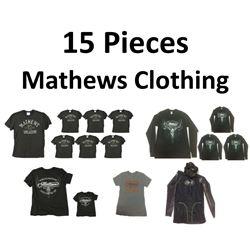 15 x Mathews Clothing
