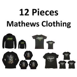 12 x Mathews Clothing