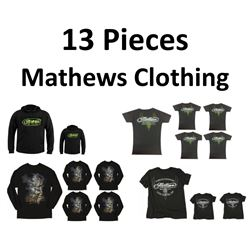 13 x Mathews Clothing