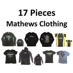 10 x Mathews Clothing