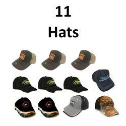 11 x Hats