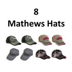 8 x Mathews Hats