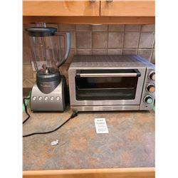Toaster Broiler and Blender A